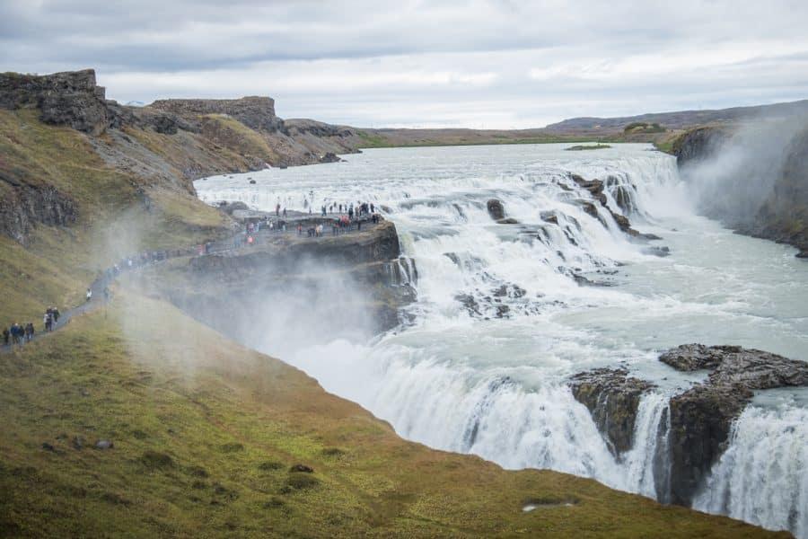 Islanda - gullfoss