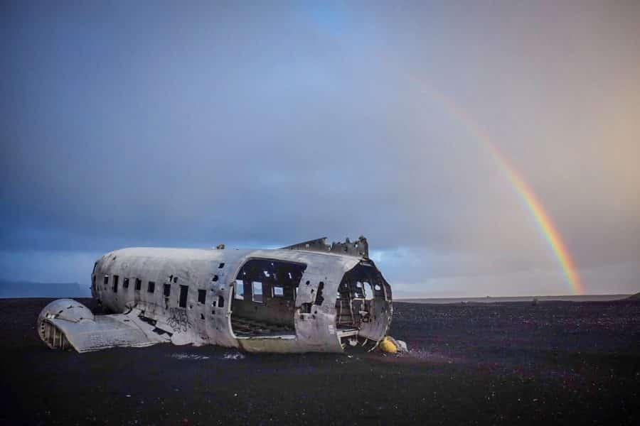 Islanda - Plane Wreck