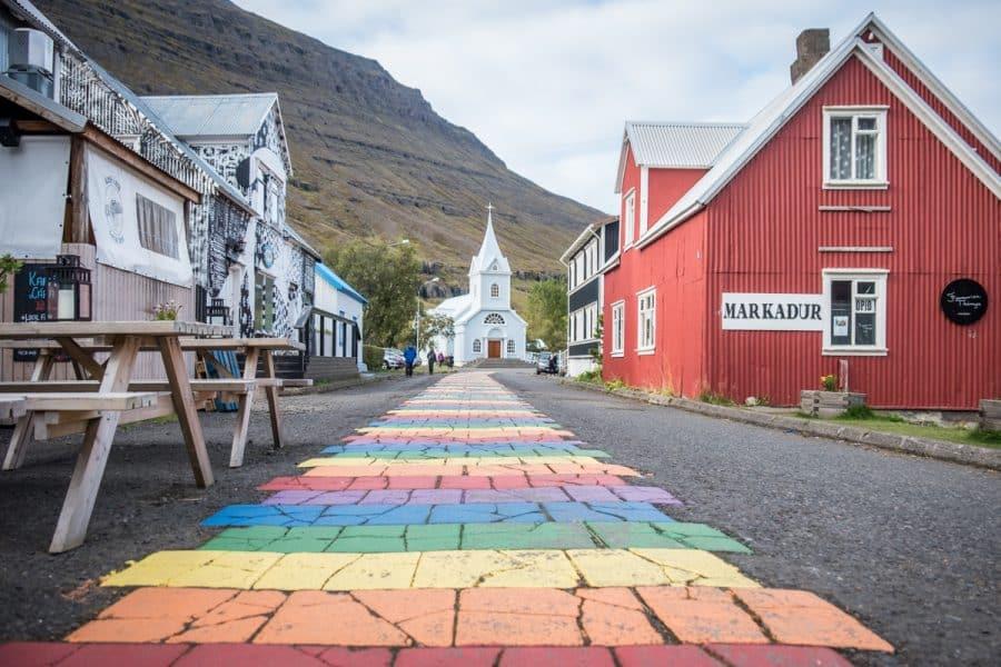 Islanda seydisfjordur