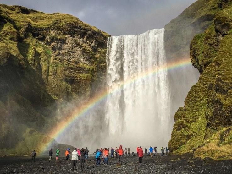 Islanda - Skogafoss