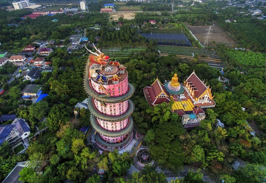 Bangkok Insolita-Dragon Temple