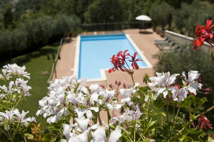 Agriturismo con piscina in Umbria