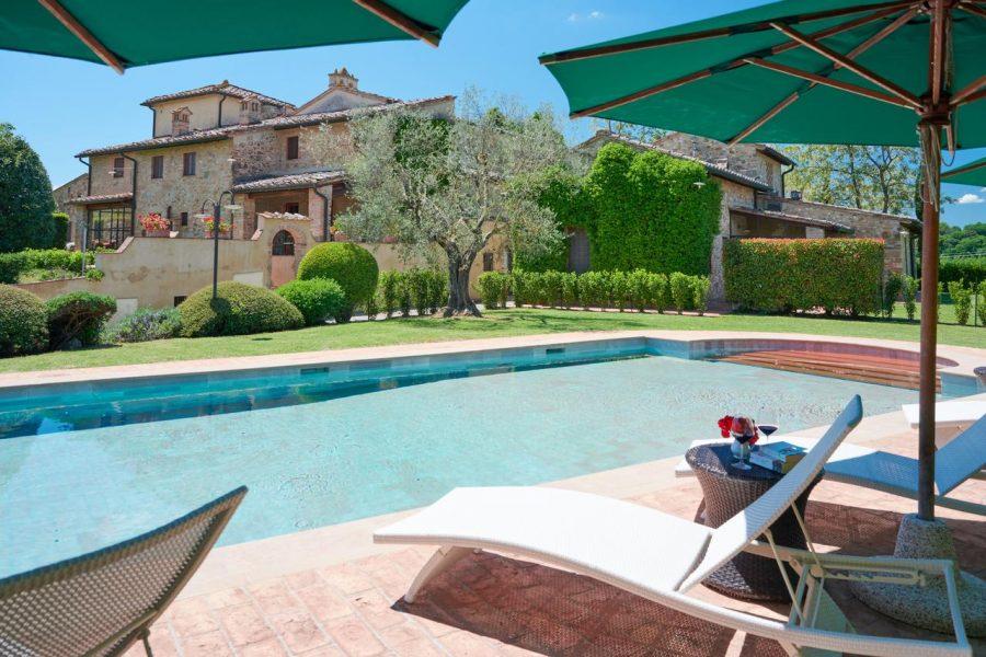 Agriturismo con piscina in Toscana