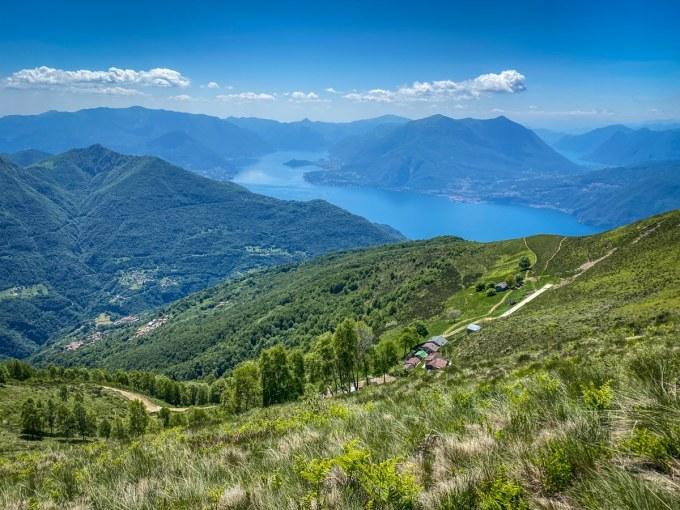 Trekking vicino Milano- Alpe Giumello