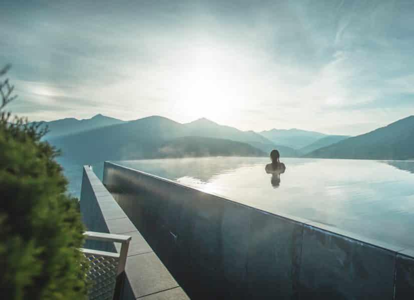 Hotel con Spa Dolomiti-Hubertus Skypool