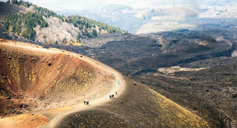 Etna- crateri Silvestri