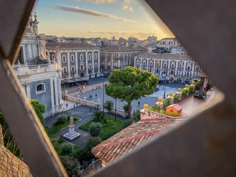 cosa vedere a Catania- vista dalla Chiesa della Badia di S.Agata