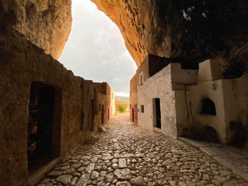 Sicilia Occidentale - grotta Mangiapane