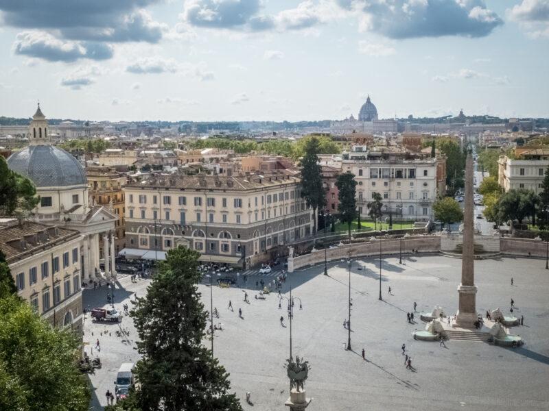 Cosa vedere a Roma- Piazza del Popolo
