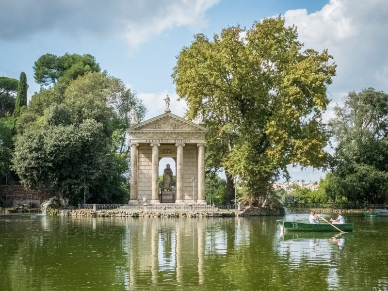 Cosa vedere a Roma in 3 giorni- Villa Borghese