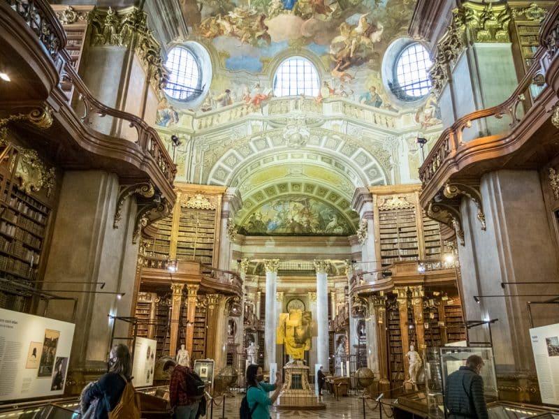 Vienna -Biblioteca Nazionale