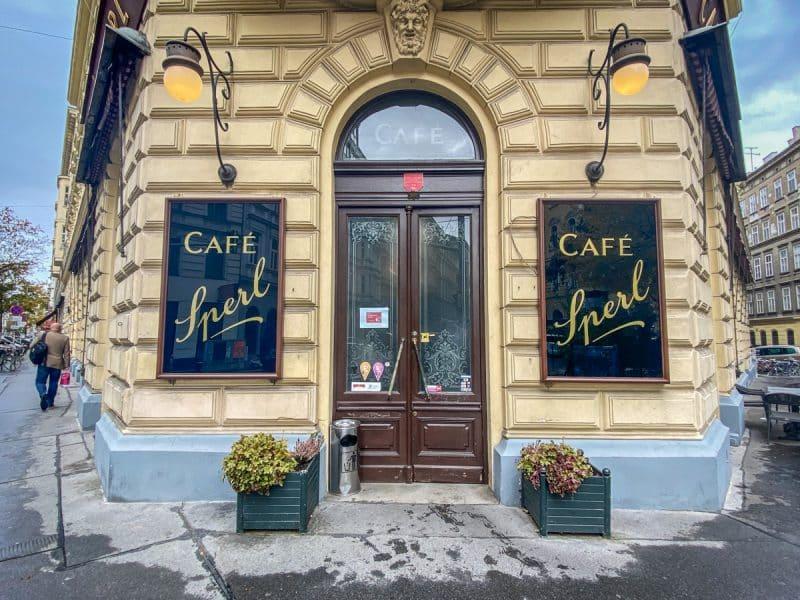 Vienna - Café Sperl