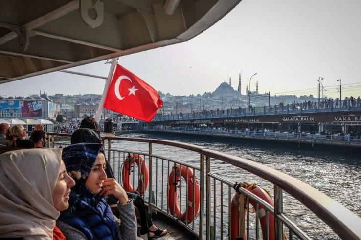 Istanbul- vista sul Ponte di Galata