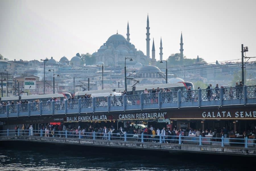 Istanbul- Ponte di Galata