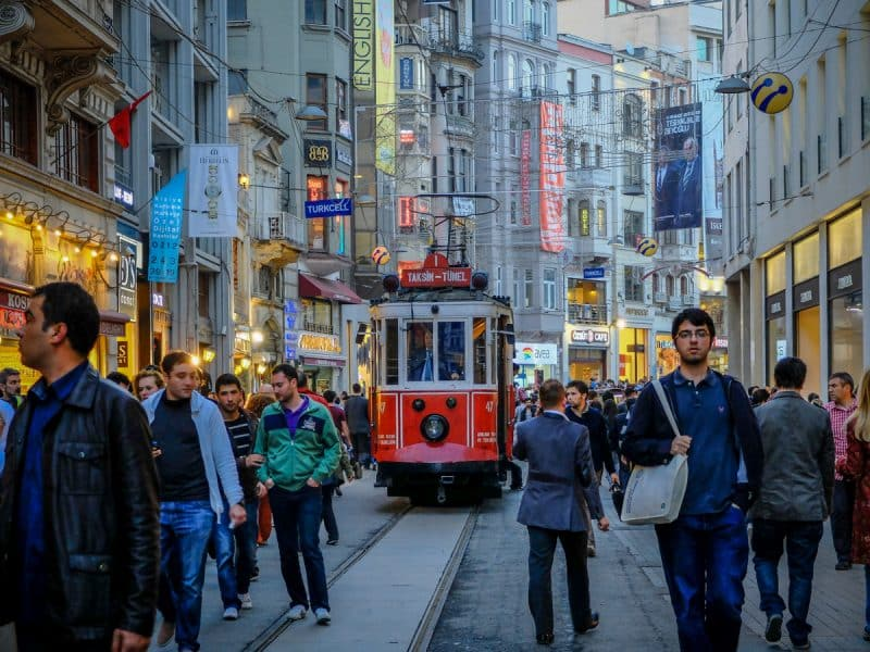 Istanbul- Istikal Caddesi