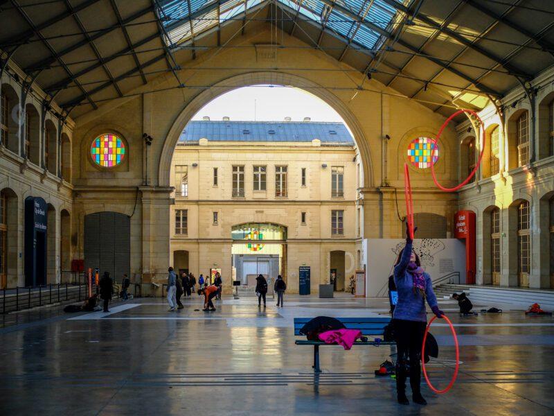 Parigi- centro culturale Centquatre