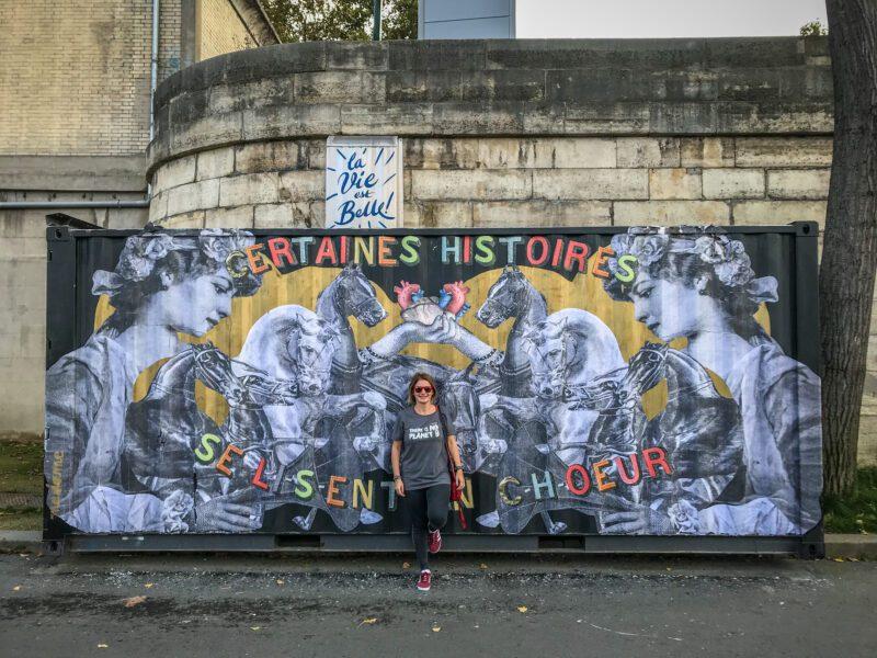 Parigi insolita- street art sul lungosenna