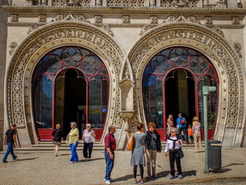 Lisbona- stazione di Rossio