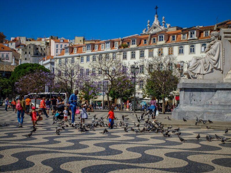Cosa vedere a Lisbona - Placa Rossio