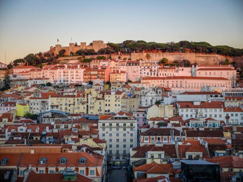 Lisbona- vista dal miradouro de Alcantara
