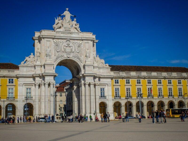Lisbona - Placa do Comercio