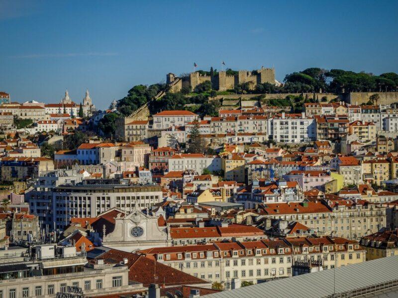 Cosa vedere a Lisbona - castello di Sao Jorge