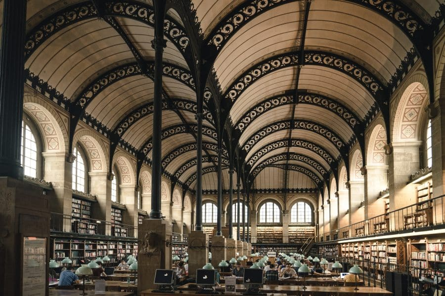 Parigi insolita- Biblioteca Sainte-Geneviève