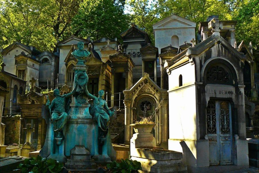Parigi- cimitero di Pére Lachaise