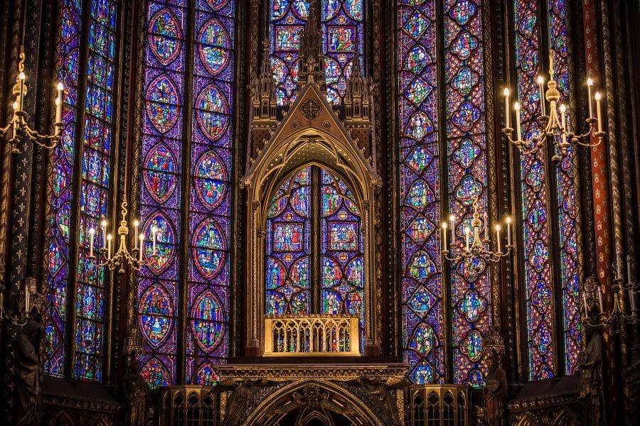 Parigi- la Sainte Chapelle