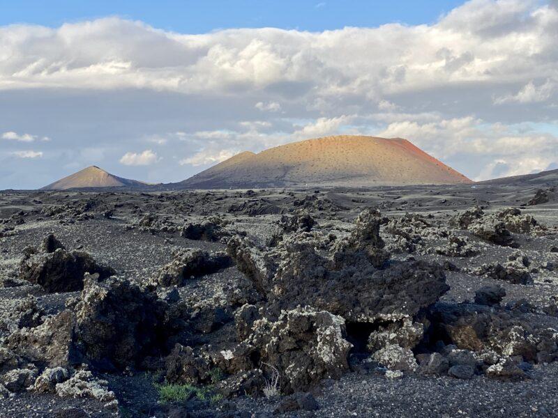 montagna colorada - Lanzarote