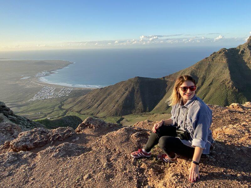 trekking a Lanzarote - risco de famara