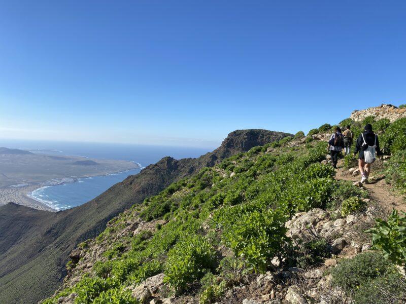trekking a Lanzarote- Risco de Famara