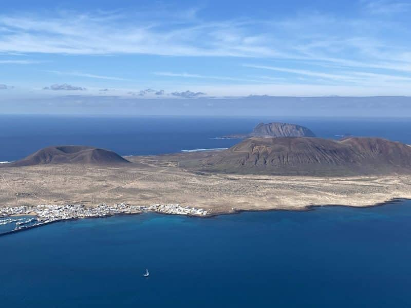 La Graciosa vista da Lanzarote