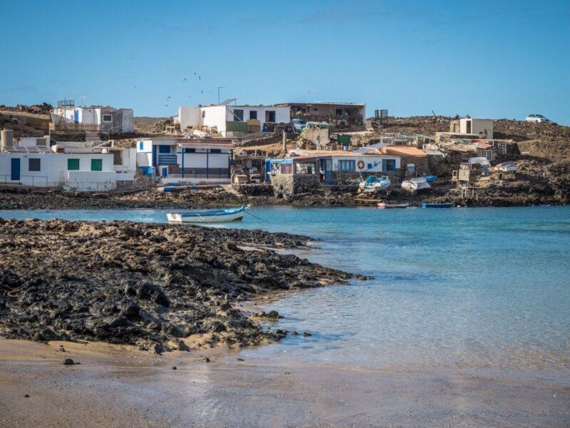 Cosa vedere a Fuerteventura - costa vicino Corralejo