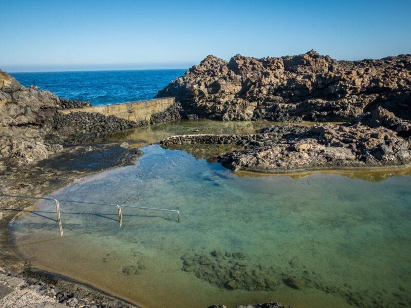 Piscine naturali a Lanzarote - Charco del Palo