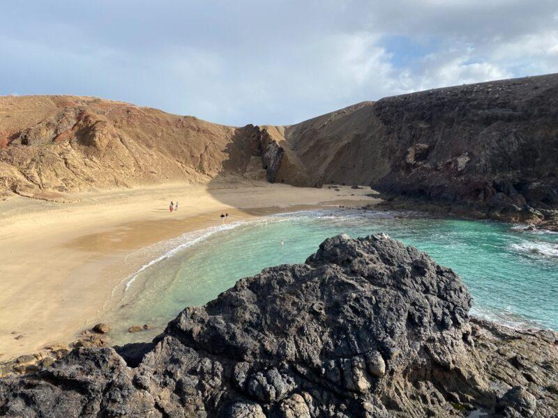 Spiagge di Lanzarote- Playa del papagayo
