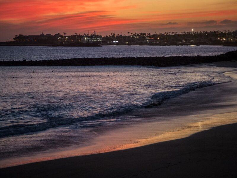 Lanzarote- Playa Dorada al tramonto