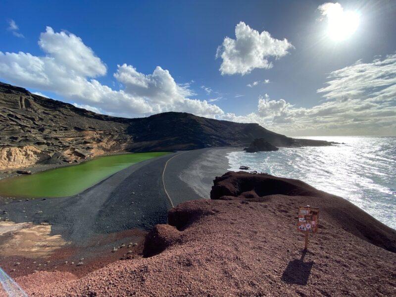 Lago Verde- - Lanzarote