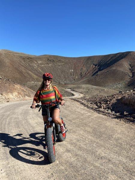 Calderon Hondo in bici