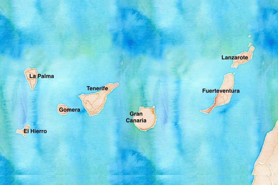La Gomera (Canarie) dove si trova