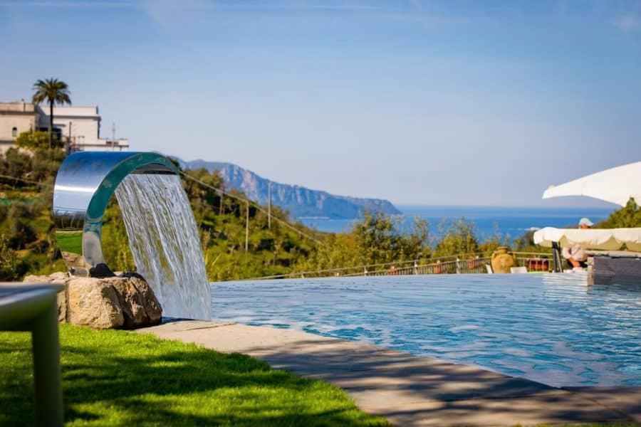 agriturismo con piscina in Campania - Oleum