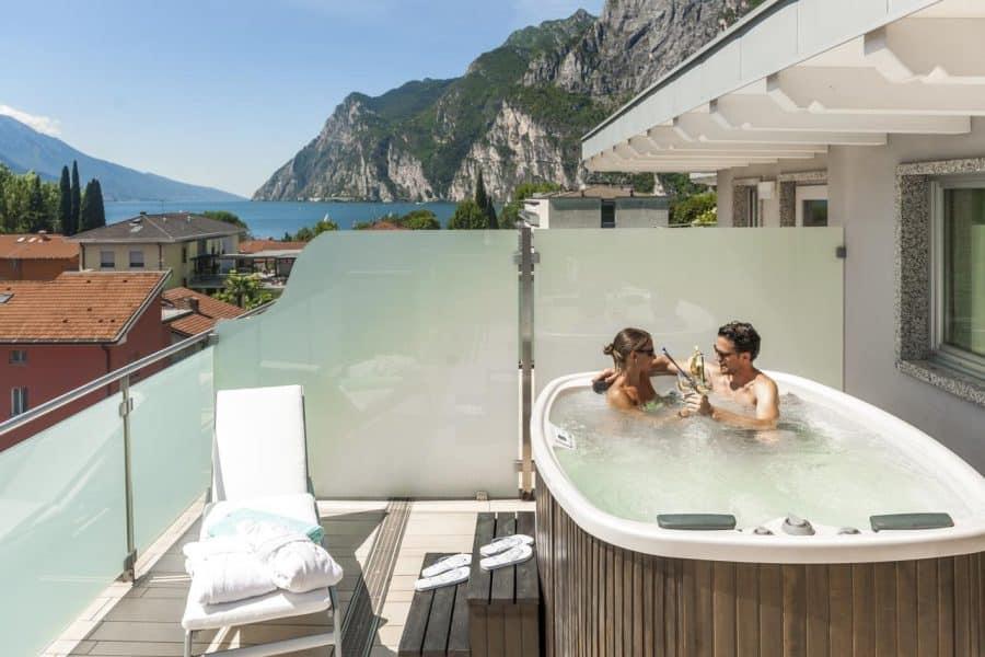Hotel con Spa sul lago di Garda- Parc Hotel Flora
