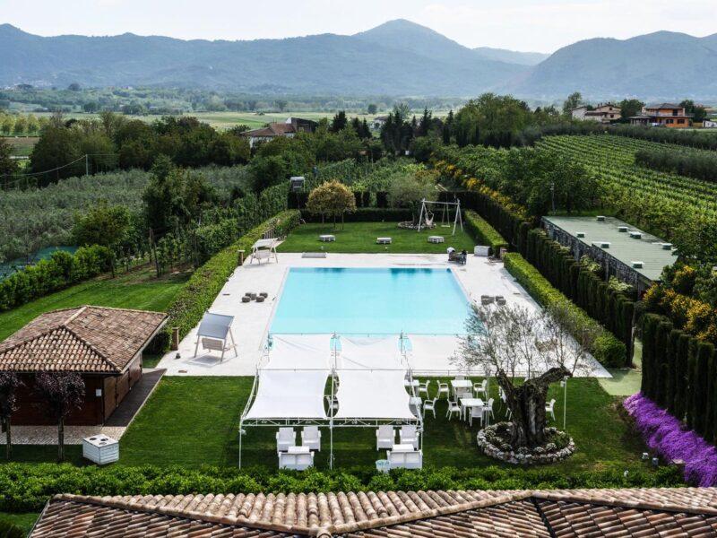Agriturismo con piscina in Campania - Tenute del Greppio