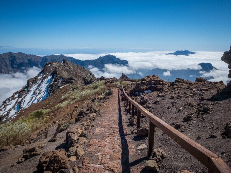 trekking Roques de los Muchachos (La Palma)
