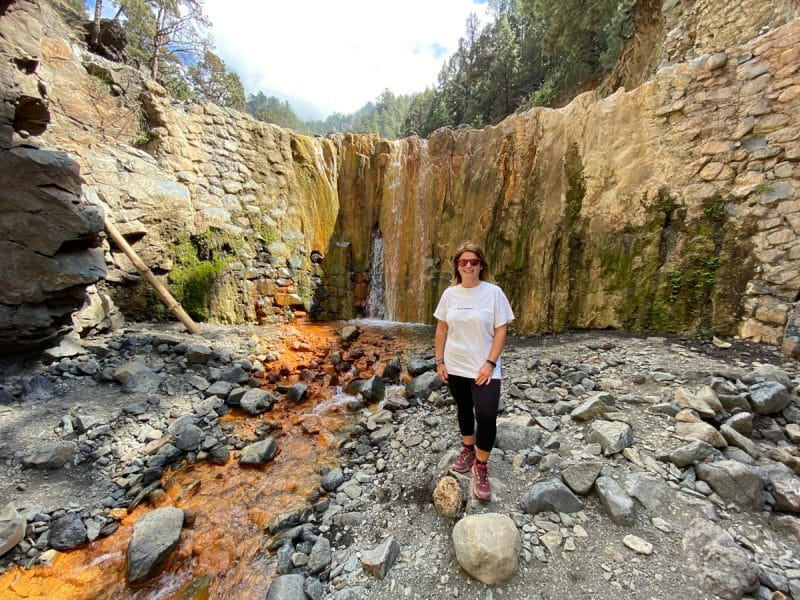 Trekking nella Caldera del Taburiente- Cascada Colorada