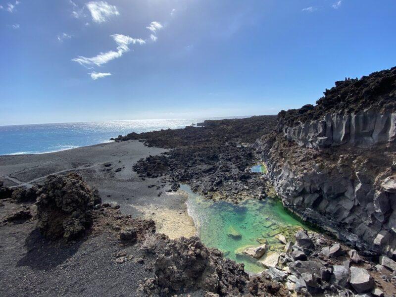 Cosa vedere a La Palma - piscina naturale