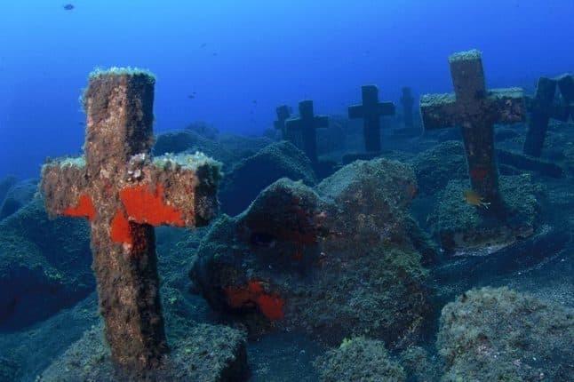 Cosa vedere a La Palma - croci di Malpique