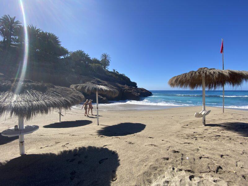 Spiagge più belle di Tenerife -Playa del Duque