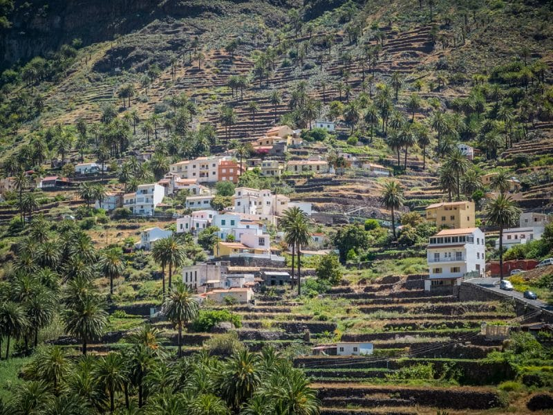 Playa de Vueltas - Valle Gran Rey - La Gomera
