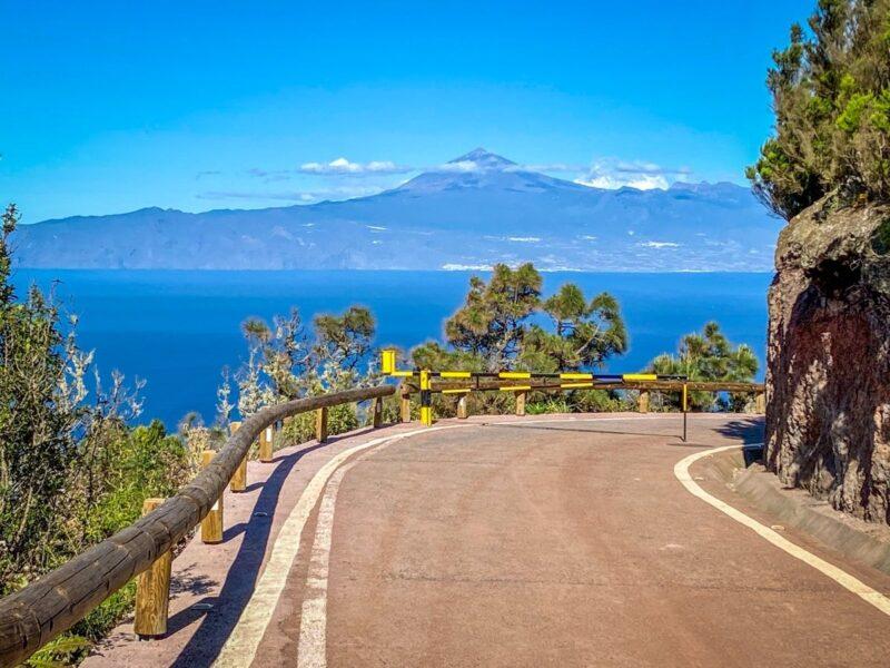 Il Teide visto da La Gomera